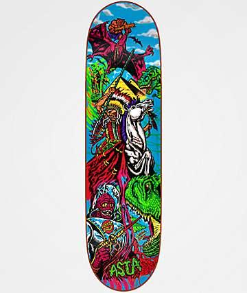 "Santa Cruz Asta Lamour Supreme 8.0"" Skateboard Deck"