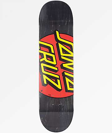 "Santa Cruz Big Dot 8.37"" Skateboard Deck"