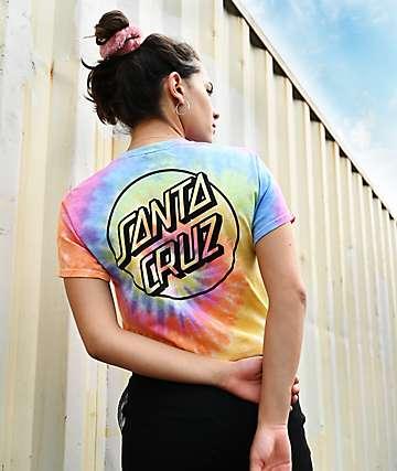 Santa Cruz Opus Dot Eternity Tie Dye T-Shirt
