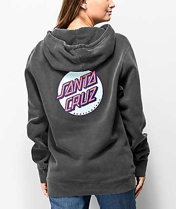Santa Cruz Other Dot Black Hoodie