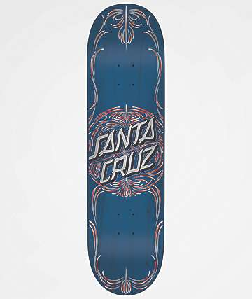"Santa Cruz Pinstripe Dot 8.25"" Skateboard Deck"