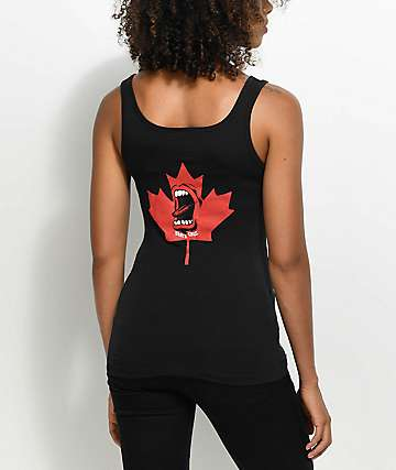 Santa Cruz Screaming Maple Black Tank Top