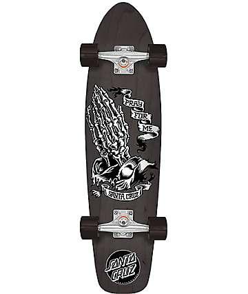 "Santa Cruz Skeleton Jammer 29.1"" Cruiser Complete Skateboard"