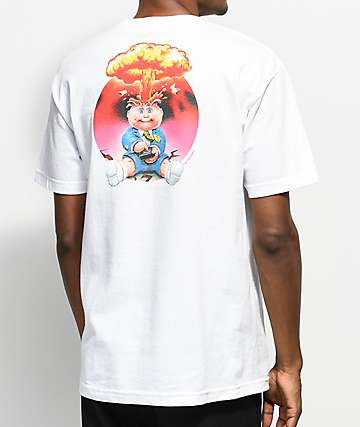 Santa Cruz x Garbage Pail Kids Adam-Bomb White T-Shirt