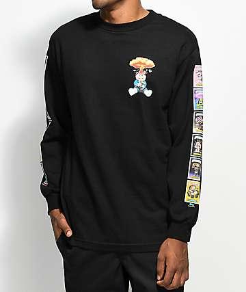 Santa Cruz x Garbage Pail Kids Nostalgia Overload Long Sleeve Black T-Shirt