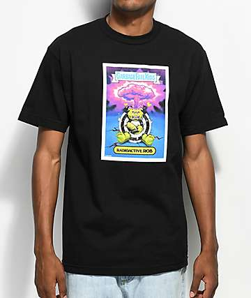 Santa Cruz x Garbage Pail Kids Radioactive Rob Black T-Shirt