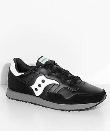 Saucony DXN Trainer Essential Black & White Shoes
