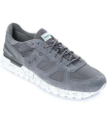 Saucony Shadow Original Ripstop Charcoal Shoes