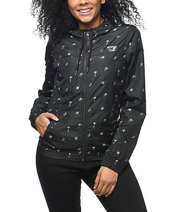 Sketchy Tank Jade Windbreaker Jacket