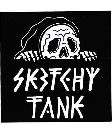 Sketchy Tank Lurk Sticker