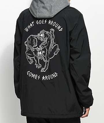 Sketchy Tank Pitchfork Black Jacket