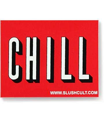 Slushcult Chill Logo Sticker