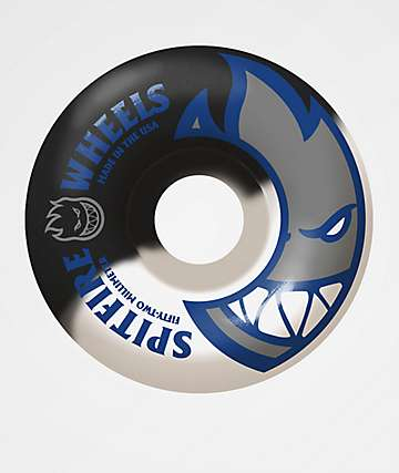 Spitfire Bighead 52mm 99a Black & White Skateboard Wheels