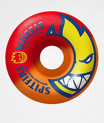 Spitfire Bighead 53mm 99a Red & Orange Wheels