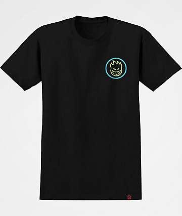 Spitfire Boys Classic Swirl Fade Black T-Shirt