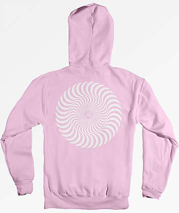 Spitfire Classic Swirl Pink Hoodie