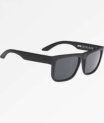 Spy Discord Happy Lens Soft Matte Bkack Sunglasses