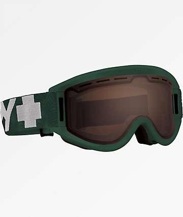Spy Getaway Matte Green & Bronze Snowboard Goggles