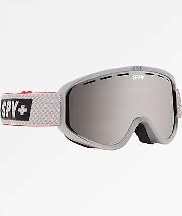 Spy Woot Louie Vito Silver Mirror & Bronze Snowboard Goggles