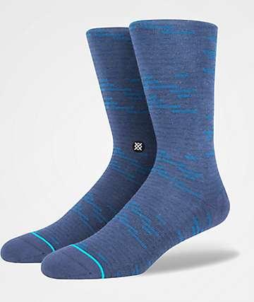 Stance Ancestors Navy Crew Socks