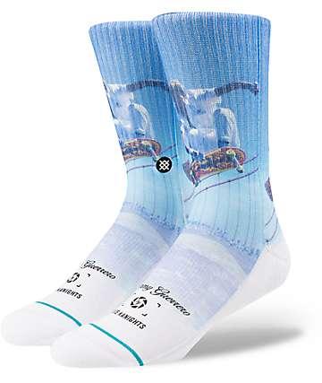 Stance Bryce & Tommy White Crew Socks