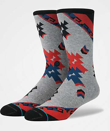 Stance Dust Devils Black & Grey Crew Socks