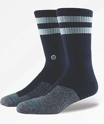 Stance Hookey Navy Crew Socks