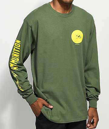 Stoney by Post Malone Stoney Target Green Long Sleeve T-Shirt