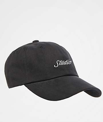Studio Script Black Dad Hat