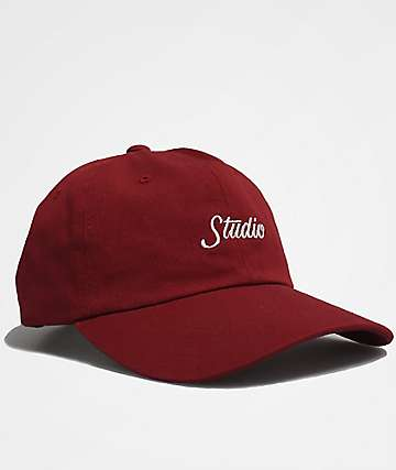 Studio Script Red Baseball Hat