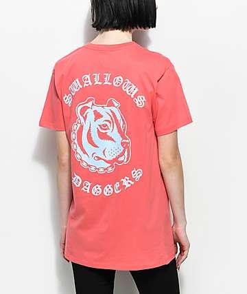 Swallows & Daggers Pitbull Pink T-Shirt