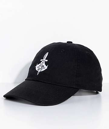 Swallows & Daggers No Snitches Black Dad Hat