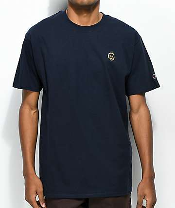 Sweatshirt by Early Sweatshirt Premium Navy & Gold T-Shirt