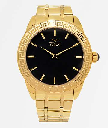 The Gold Gods Augustus Gold Analog Watch