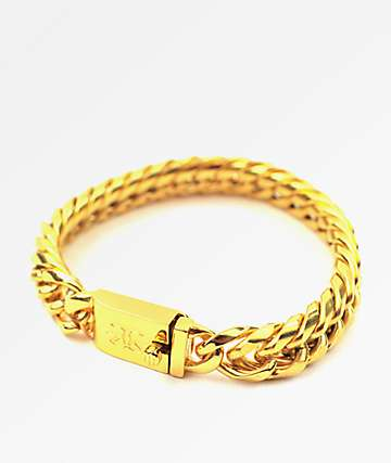 The Gold Gods Gold Cuban Link Bracelet