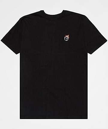 The Hundreds Crest Adam Black T-Shirt