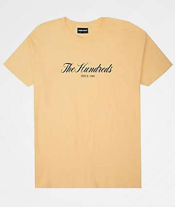 The Hundreds Rich 80 Sand T-Shirt