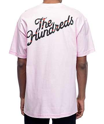 The Hundreds Rose Fill Slant Pink T-Shirt