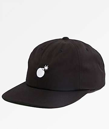 The Hundreds Seed Black Unstructured Snapback Hat