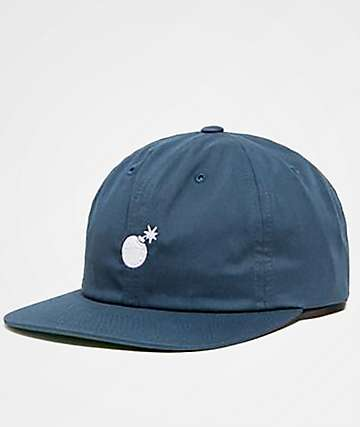 The Hundreds Seed Blue Unstructured Snapback Hat