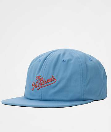 The Hundreds Slant Blue & Red Snapback Hat