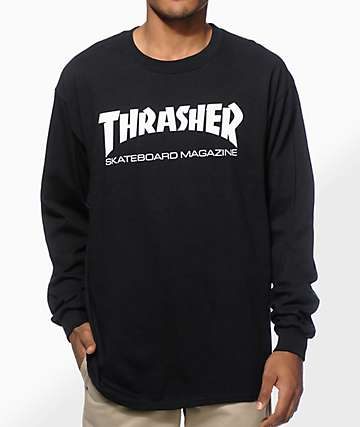 Thrasher Mag Logo Long Sleeve T-Shirt