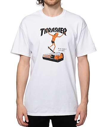 Thrasher Neck Face T-Shirt