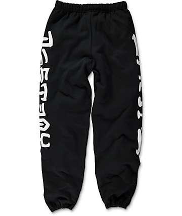 Thrasher Skate And Destroy Black Sweatpants