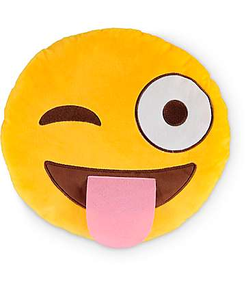 Throwboy Silly Emoji Pillow