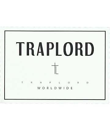 Trap Lord Box Logo White Sticker