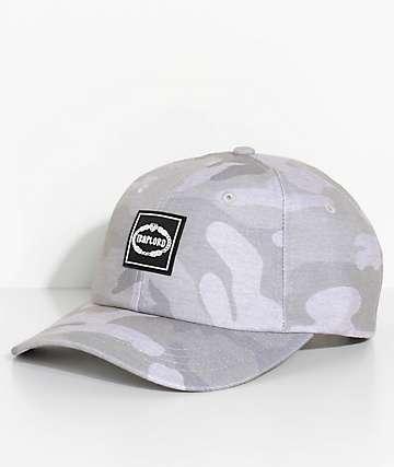 Trap Lord Crest Grey Camo Dad Hat
