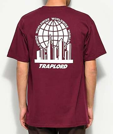 Traplord City Logo Maroon T-Shirt
