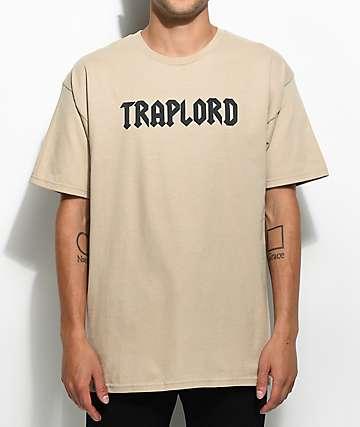 Traplord Puff Logo Khaki T-Shirt