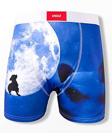 UNDZ Wolf Blue Boxer Briefs